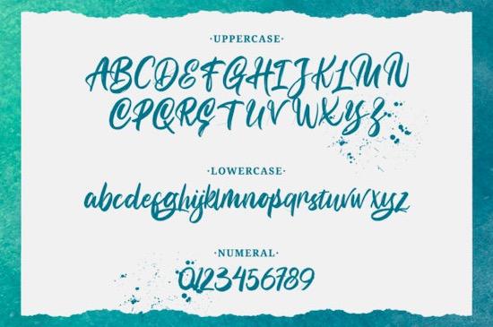 Bunaken font download