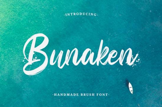 Bunaken font free download