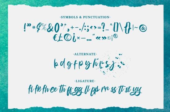 Bunaken font free