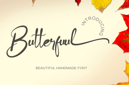 Butterfuul font free download