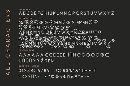 Carrol Wild font free