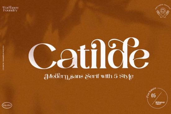 Catilde font free download