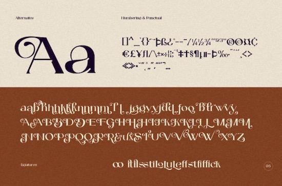 Catilde font free