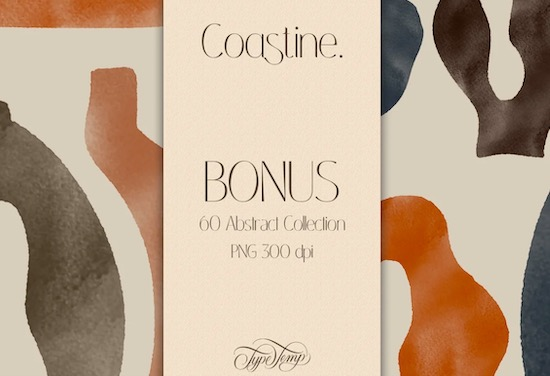Coastine font download