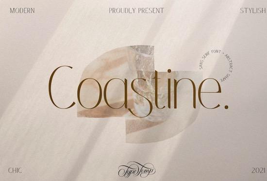 Coastine font free download