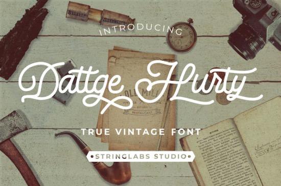 Dattge Hurty font free download