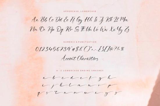 Delmona font