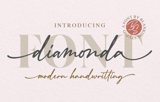 Diamonda font free download