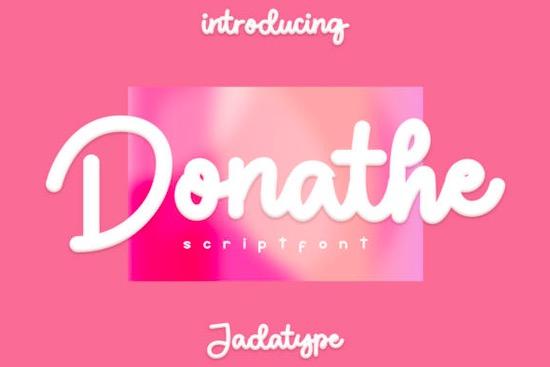 Donathe font free download