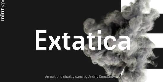 Extatica font free download