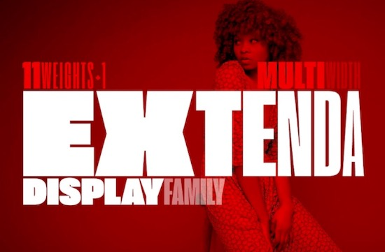 Extenda font free download