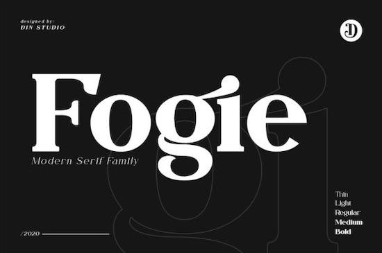 Fogie font free download