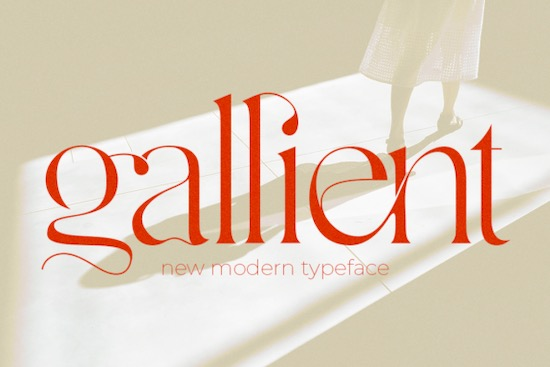 Gallient font free download