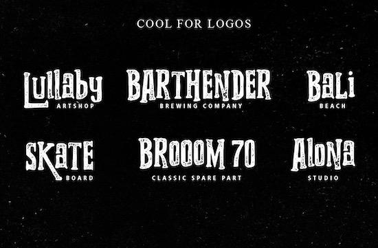 Grooving font free