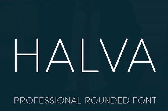 Halva font free download