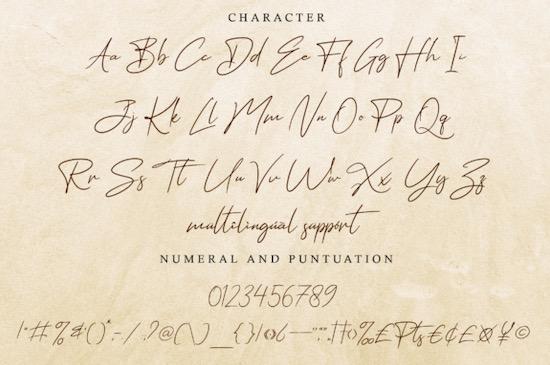 Hathem Bosteem font free
