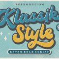 Klassik Style font free download