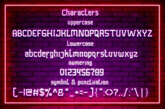 Lobots font