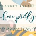 Love Prilly font free download