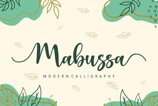 Mabussa font free download