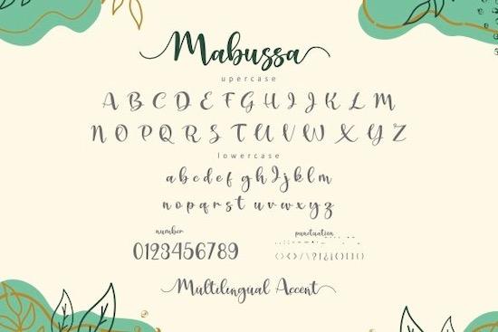 Mabussa font free