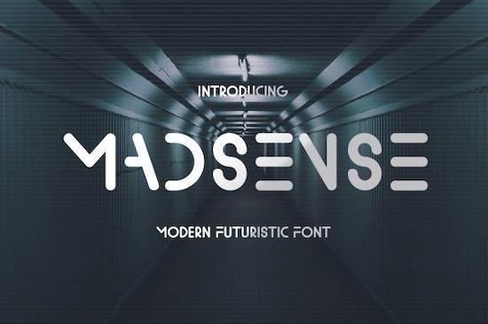 Madsense font free download