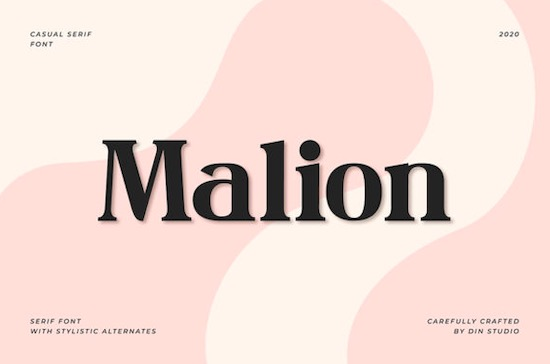 Malion font free download