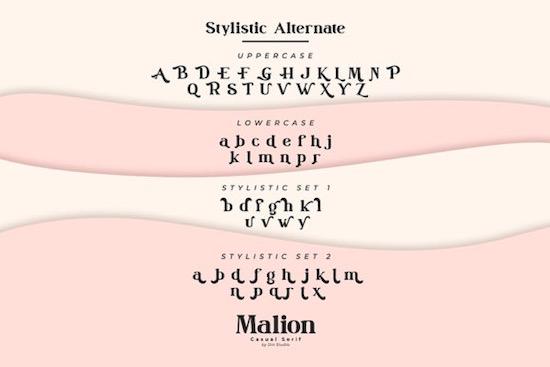 Malion font free