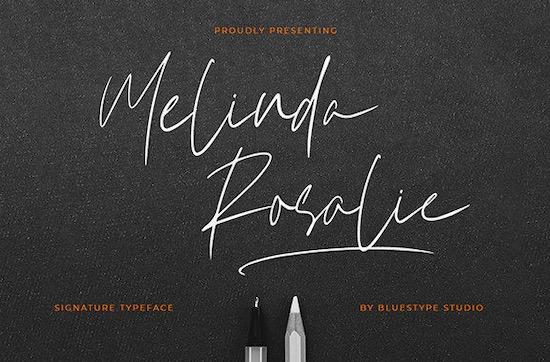 Melinda Rosalie font free download