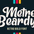 Metro Beardy font free download