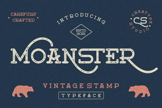 Moanster font free download