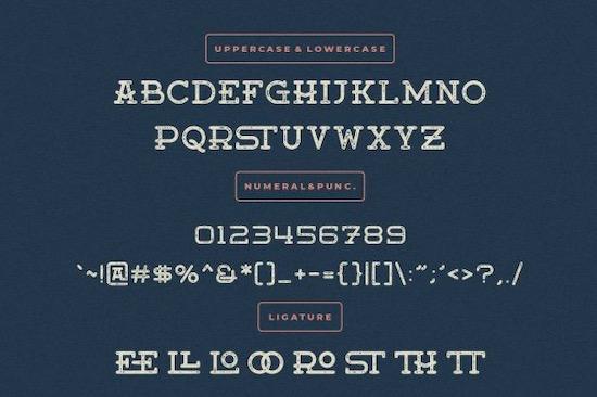 Moanster font