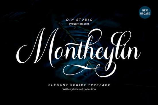 Montheylin font free download