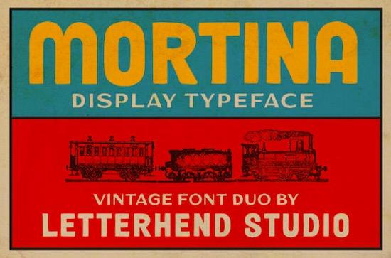 Mortina font free download