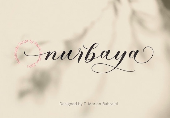 Nurbaya font free