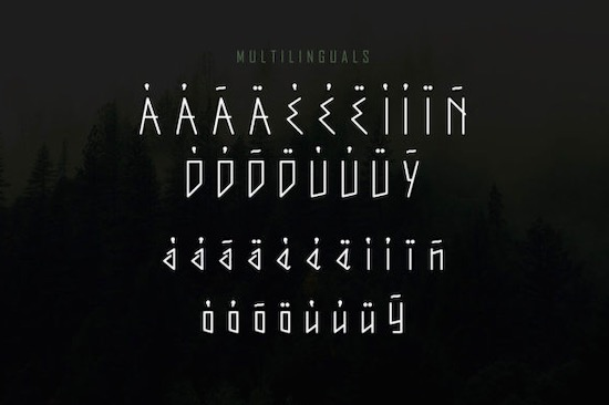 Qrubeg font free