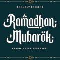 Ramadhan Mubarok font free download