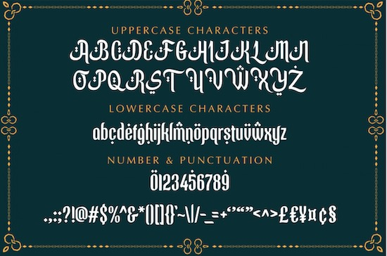 Ramadhan Mubarok font free