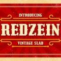 Redzein font free download