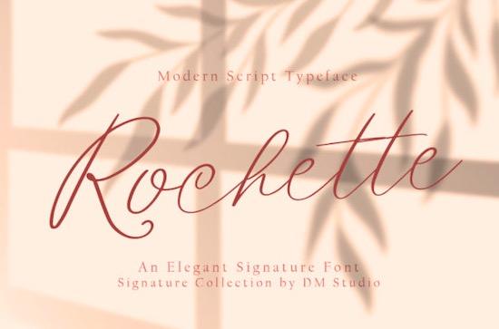 Rochette font free download