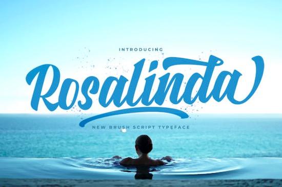 Rosalinda font free download