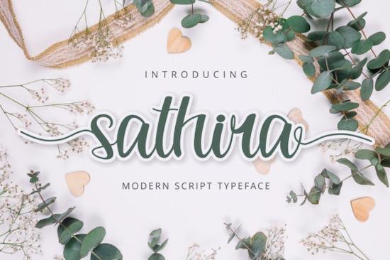 Sathira font free download