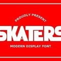 Skaters font free download