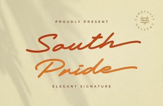 South Pride font download