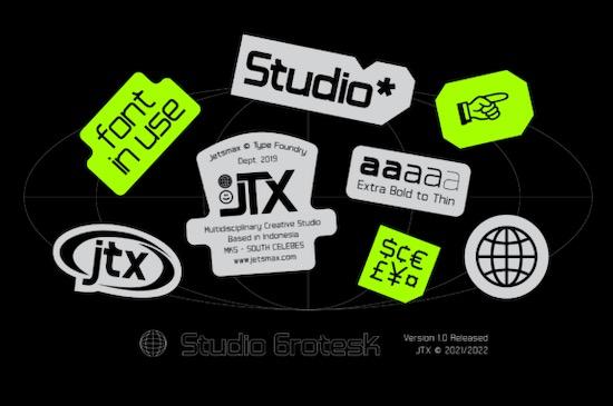 Studio Grotesk font free