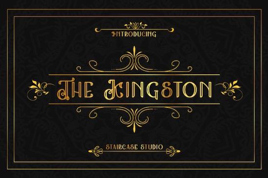 The Kingston font free download