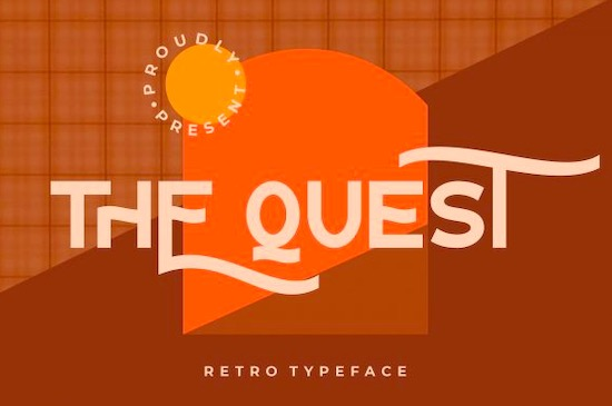 The Quest font free download