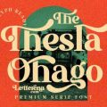 The Thesla Ohago font free download