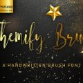 Themify Brush font download