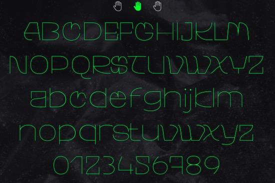 Walting font free